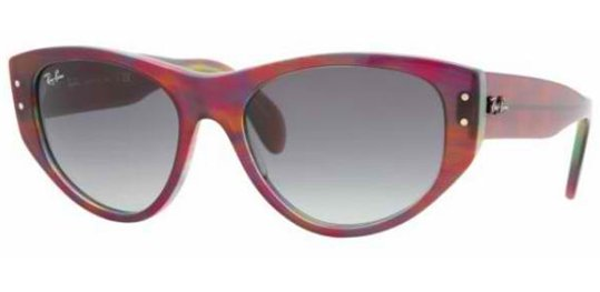 Ray Ban RB4152 105832 Purple/GradientGrey sunglasses