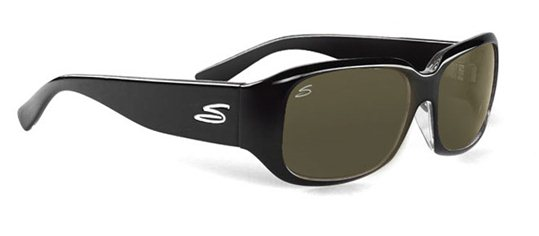 Serengeti Cosmopolitan Giuliana 7503 Shiny Black sunglasses