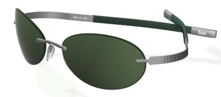 3815f7e00c Silhouette Dimension 8627 6127 Green sunglasses