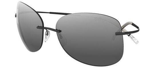 f3974c9e41c Silhouette TMA Icon 8144 6220 Black Grey sunglasses