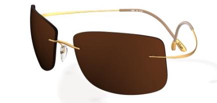 66744a54fa2 Silhouette Titan Minimal Art 8642 6129 Iq pol Iq pol Brown sunglasses