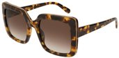 Stella McCartney SC0093S 003 BROWN GRADIENT sunglasses