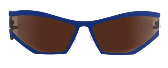 Theo Coris 182 Deep Ultramarine Mat sunglasses