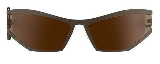 Theo Coris 35 Dark Gray Mat sunglasses