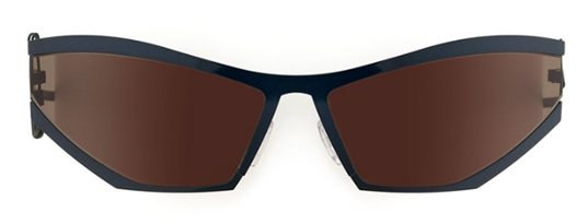 Theo Coris 64 Blues Green Shine sunglasses
