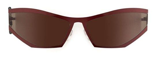Theo Coris 96 HD Luxe Red Shine sunglasses