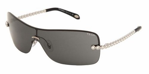 Tiffany TF3002B 60013F Silver/SmokeGray sunglasses
