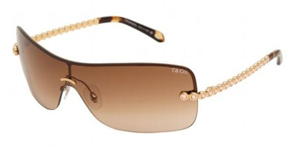 Tiffany TF3002B 60023B Gold/BrownGradient sunglasses