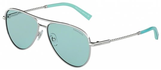 985afcfac6ab Tiffany TF3062 6136D9 SILVER Blue Gradient sunglasses