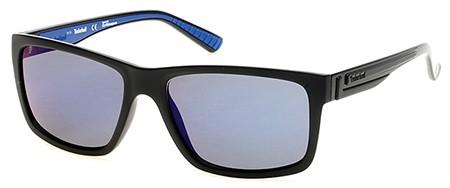 5c14cf743ec Timberland TB9096 02D matte black   smoke polarized sunglasses