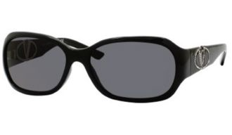 Valentino 5659/S 0D28E5 Shiny Black (smoke Lens) sunglasses