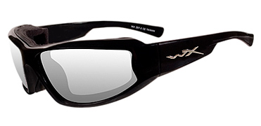 Wiley X Jake CCJAK03 Clear/GlossBlack sunglasses