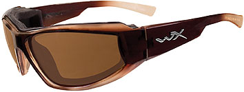 Wiley X Jake CCJAK04 Polarized Bronze/GlossBrown Fade sunglasses