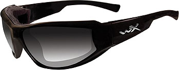 Wiley X Jake CCJAK05 LA Light Adjusting Smoke Grey/GlossBlack sunglasses
