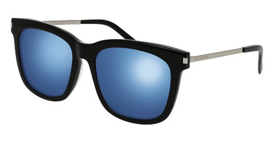 8510d58b15 Yves Saint Laurent SL 26 K 001 Black  Blue sunglasses