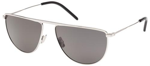 392f17b8a6 Yves Saint Laurent SL 96 001 SILVER SILVER SMOKE sunglasses