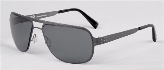 Zero G Zerostream Charcoal Gun sunglasses